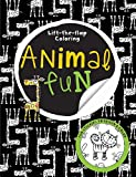Big Busy Coloring Lift the Flap Animal Fun, Make Believe Ideas, 1783931183