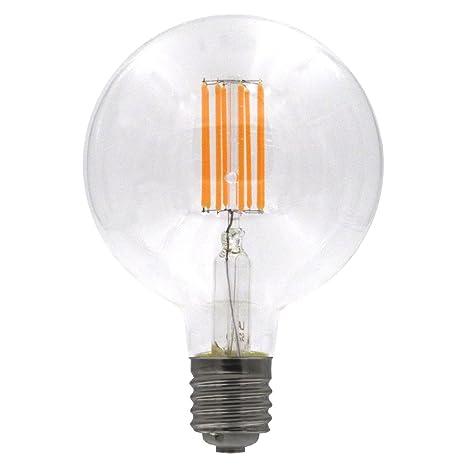 Laes Bombilla Globe Filamento LED E40, 8 W, 150 x 225 mm