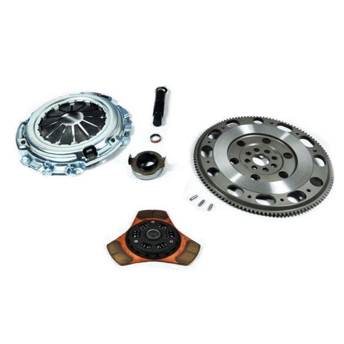 Amazon.com: EXEDY STAGE 2 CLUTCH KIT+HF02 RACING FLYWHEEL RSX CIVIC Si 2.0L TSX ACCORD 2.4L: Automotive