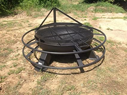 48 inch Fire Pit With Grill Top - Amazon.com: 48 Inch Fire Pit With Grill Top: Home & Kitchen