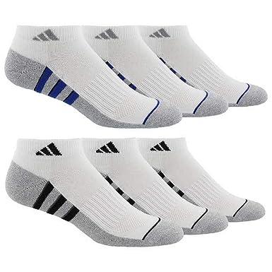 adidas de Hombre Athletic Calcetines de Corte bajo (6-Pack): Amazon ...