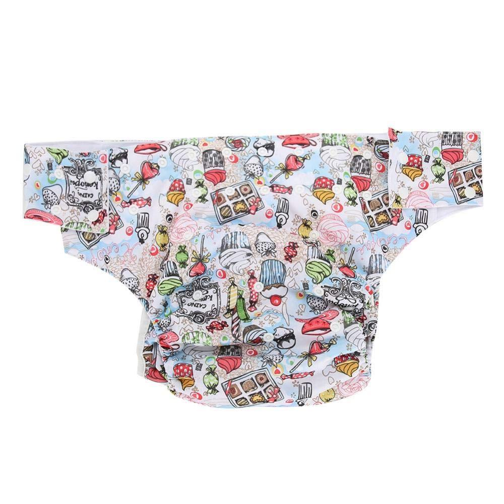 para adultos doble abertura ajustable a prueba de fugas 03# lavable Pa/ñal de tela para incontinencia reutilizable Pa/ñal de tela para adultos