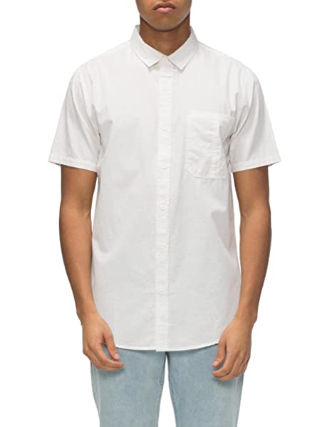 f220f44f41 Amazon.com: Tavik Men's Delancy Short Sleeve Woven White Shirt: Clothing