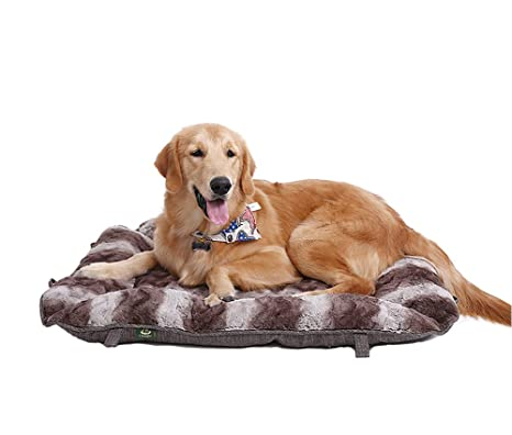 GKBMSP Cama de Perro Lavable Suave y Confortable Cama Suave de la Cesta del Animal doméstico