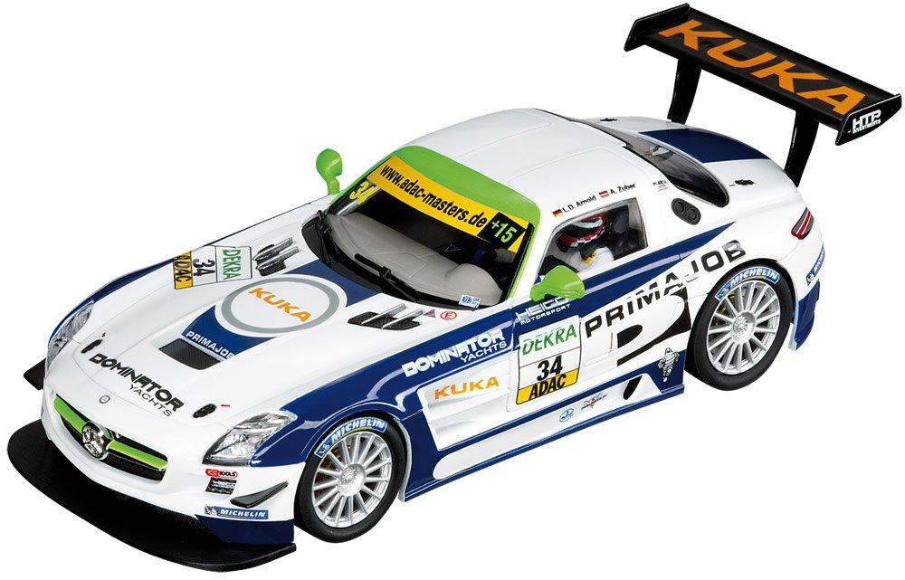 Carrera Coche Digital 132 Mercedes Benz SLS AMG GT3, HEICO Motorsport, ADAC GT Masters 2011, escala 1:32 (20030552)
