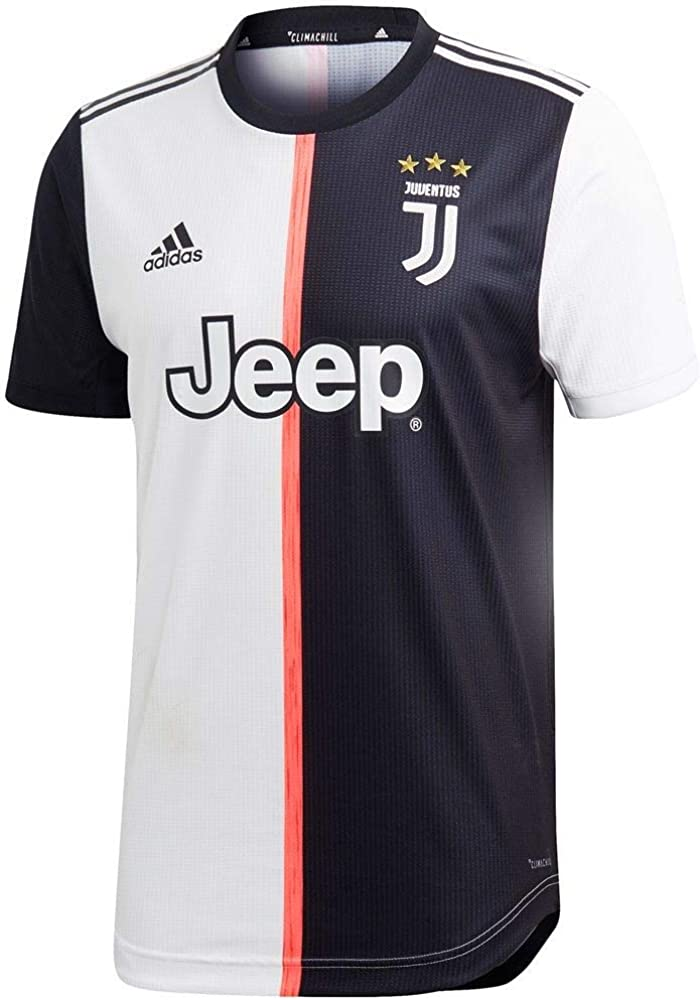 adidas Men's Soccer Juventus Authentic Home Jersey