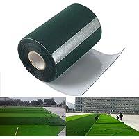 Qiwenr 150mm*10m Zelfklevende gras tape,Voegband voor huisdier tapijtmat zelfklevende grastapijt tape Kunstgras tape…
