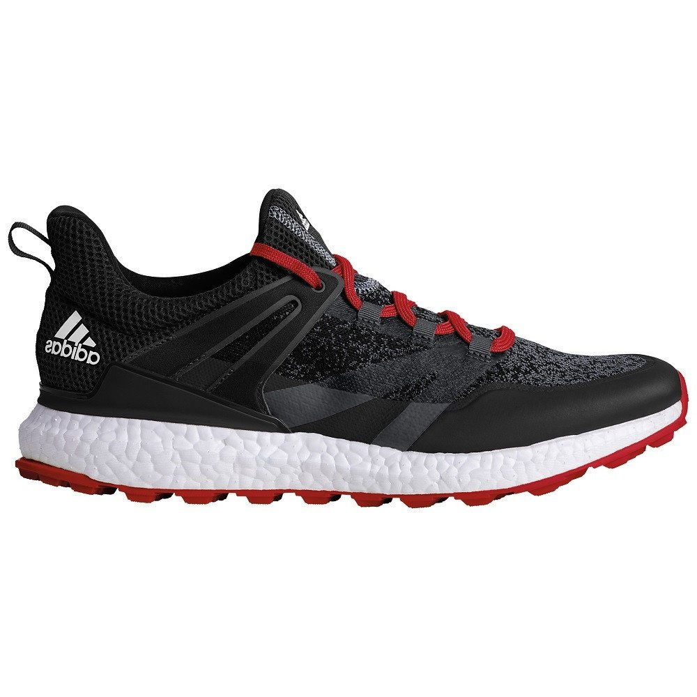 online retailer 72b75 73d56 adidas crossknit Boost Golf Shoes, Men, Men, Crossknit Boost, grey white,  UK 7.5  Amazon.co.uk  Sports   Outdoors