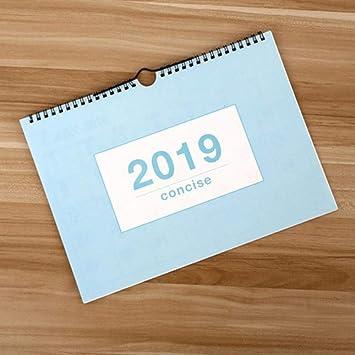Calendario de pared multifunción de 2019 años, planificador ...