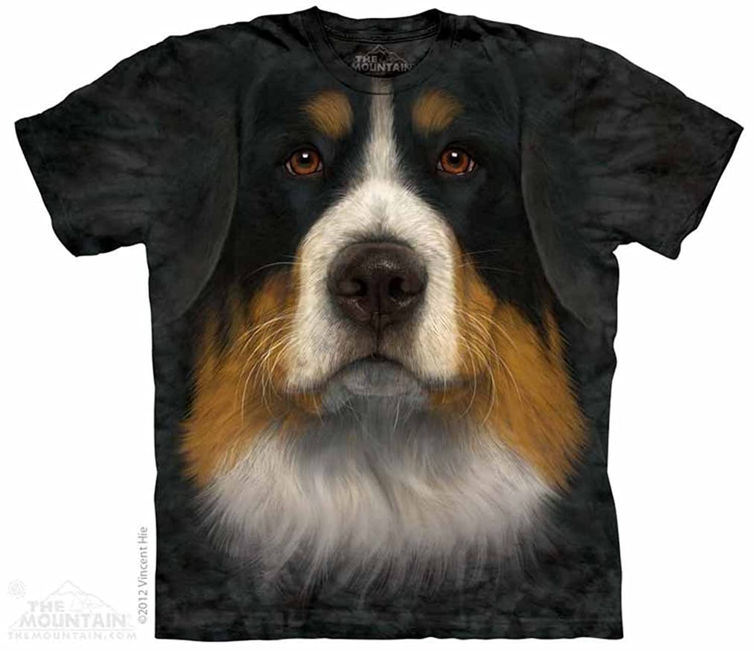 Bernese Mountian Dog Face The Mountain T