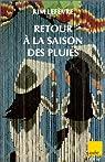 Retour à la saison des pluies par Lefèvre