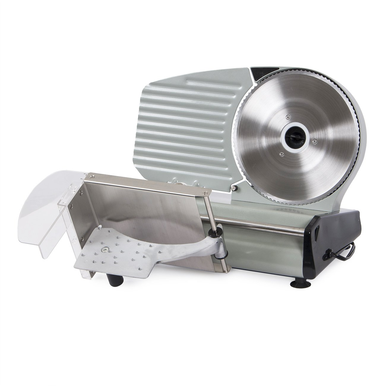 ARKSEN 8.7 -inch Electric Deli Meat Slicer Blade Cutter Veggies Kitchen 110V, ETL, CSA Listed