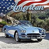 Classic Car Calendar - Muscle Car Calendar - American Muscle Cars Calendar - Calendars 2018 - 2019 Wall Calendars - Car Calendar - American Classic Cars 16 Month Wall Calendar by Avonside