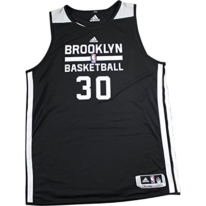 2016-2017 Brooklyn Nets  30 Black and White Reversible Home Practice ... 7c29c8b7c