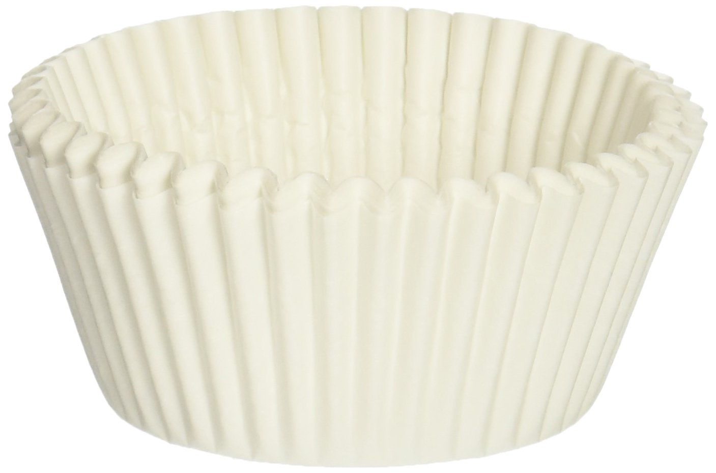 Oasis Supply Momoka's Apron Baking Cups, Standard, 1000-Count, White VK453-1000