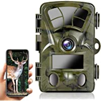 Ctronics Cámara de Vida Salvaje con Detector de Movimiento 4K 20MP, Cámara de Caza WiFi Incorporada con Disparador de 0…