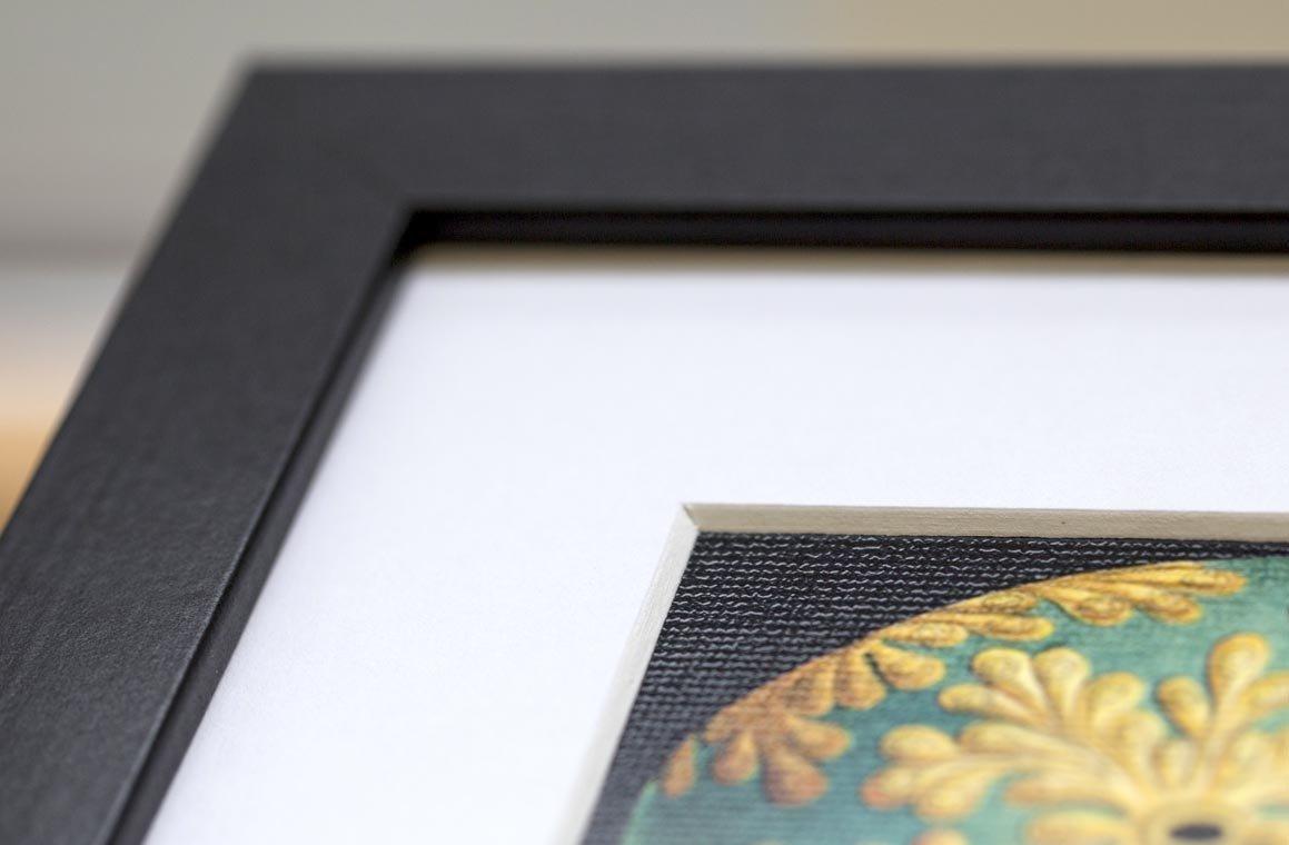 Key To Success Motovational Space Geometric 12x16 Framed Art Print F12x12096