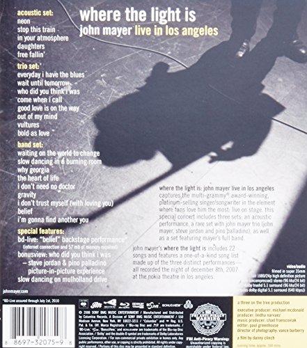 John Mayer Live In La: John Mayer: Where The Light Is