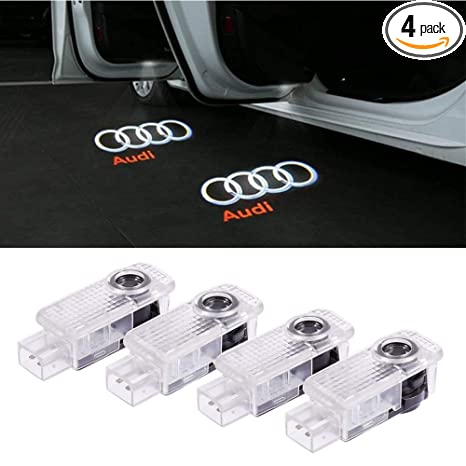Amazon.com: Para luces con logotipo de Audi.: Automotive