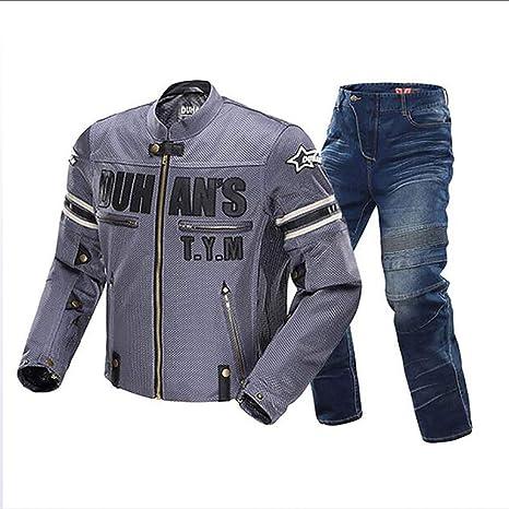 HXA Traje de Moto Chaqueta Impermeable de Moto Traje de Moto ...