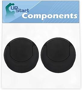 2 Pack UpStart Components Replacement Flip Top Travel Lid for Magic Bullet MB1001 Original Blender