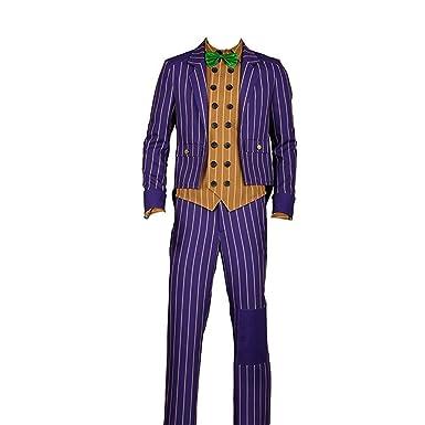 <b>Amazon</b>.com: Yejue Arkham Knight <b>Joker Cosplay Costume</b> Scary Party ...