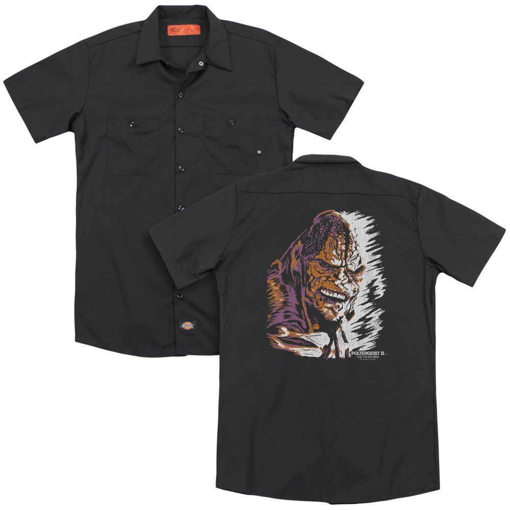Poltergeist Ii Kane Worm Adult Work Shirt