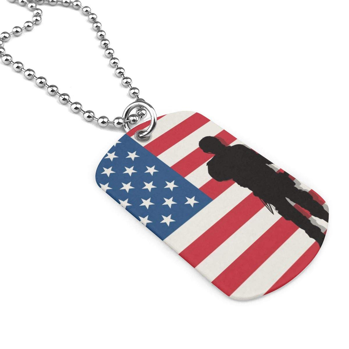 Armed Soldiers Jewelry Military Pendant Brand Necklace Metal Dog Tag