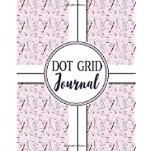 Dot Grid Journal: Bullet Grid Journal For Moon Phases, Dotted Grid Notepad - Music Cover