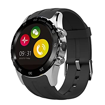 Teckey® Smartwatch Android 5.1 mtk6580 512 MB/4 GB Bluetooth Agua ...