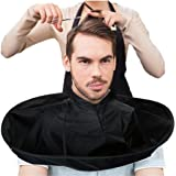 JoyJay DIY Hair Cutting Cloak Umbrella Cape Salon Barber Salon Home Stylists Hair Cutting Collar Black