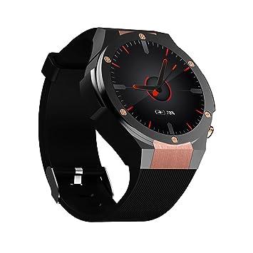 Docooler Microwear H2 Smartwatch Phone 5.0MP Camera Android 5.1 Monitor de ritmo cardíaco Podómetro Llamadas Mensajes Aplicaciones Recordatorio ...