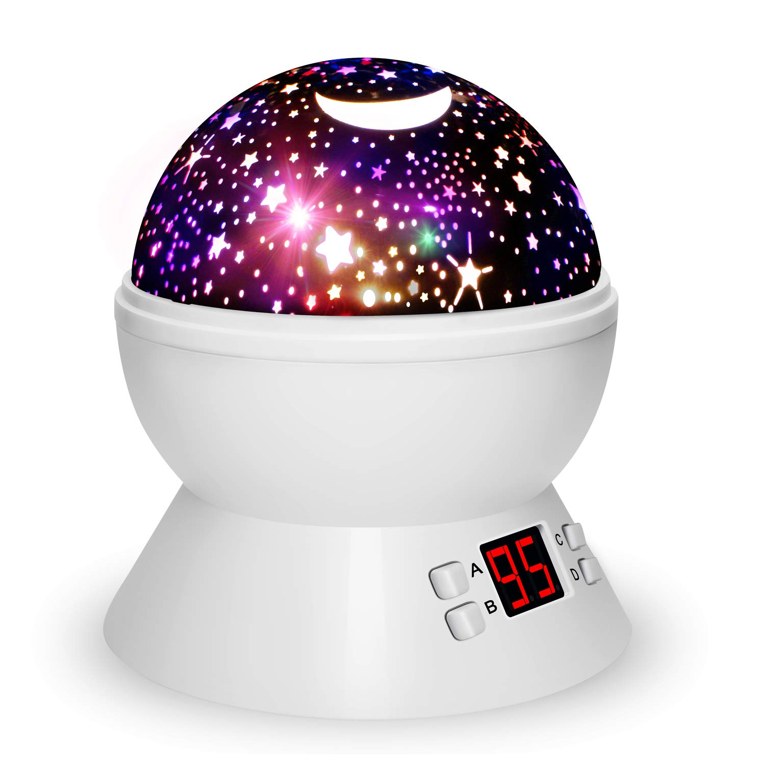 Night Lights for Kids with Timer, Star Projector for Kids Girls Boys and Baby Neteast 012-1361B