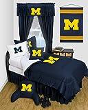 Sports Coverage University of Michigan Wolverines Dorm Bedding Comforter Set