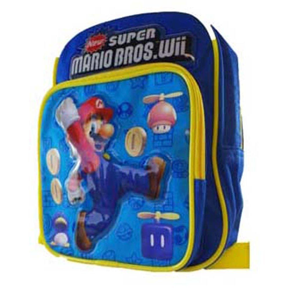 Super Mario Bros. mochila - Mario - Bolsa escolar: Amazon.es: Juguetes y juegos