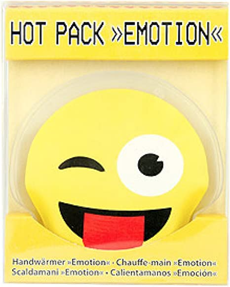 Wellness Relaxation Gift Idea Mini Bouillotte Hand Emoticone Emoji Wink To To You Amazon Co Uk Kitchen Home