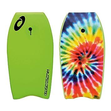 Osprey para niños/Adultos Tie Dye Bodyboard con Correa, XPE Junta con Cola en