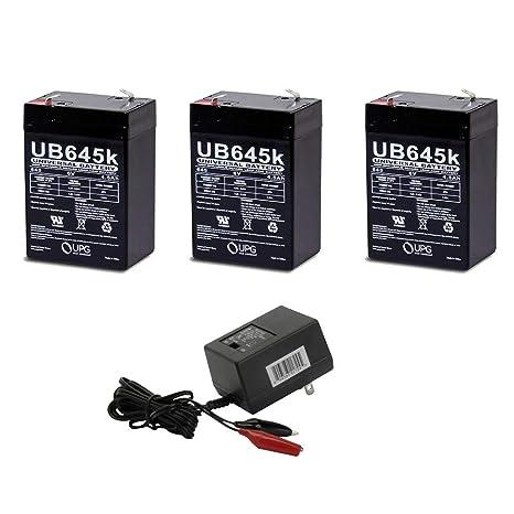 Amazon.com: UPG UB645, combo de batería SLA con ...
