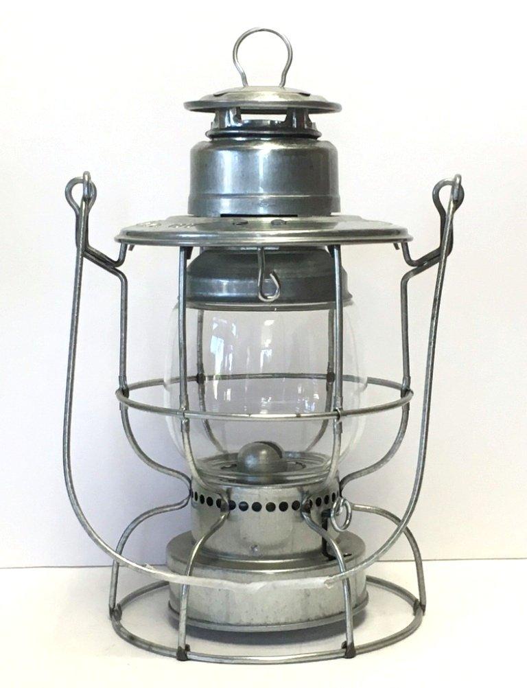 Watchman Lantern in Solid Brass (Galvanized)