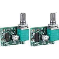 Yosoo Health Gear Audio Amplifier Board, Módulo de Placa de Amplificador de Potencia Digital, PAM8403 2 Control de…