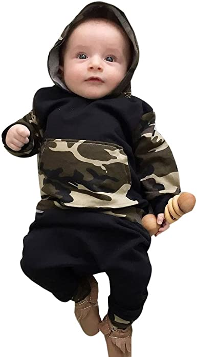 2pcs Toddler Infant Baby Boy Girls Clothes Set Blouse Hoodie Tops+Pants Outfits