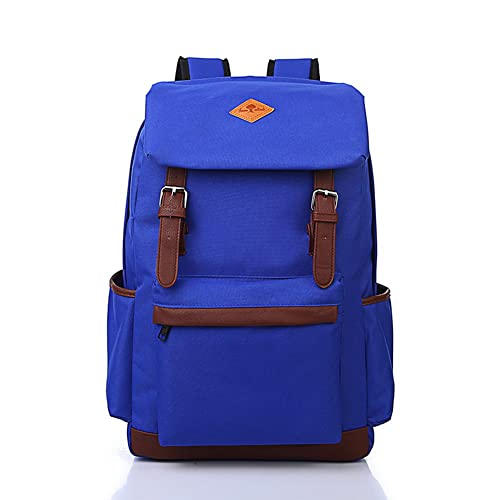 Houser Bags Waterproof Unisex Canvas Backpack Rucksack School Hiking Bag Satchel  Backpack Mens womens Backpacks Satchel Backpack Stripe Backpack for Teens  ... bf89567edea56