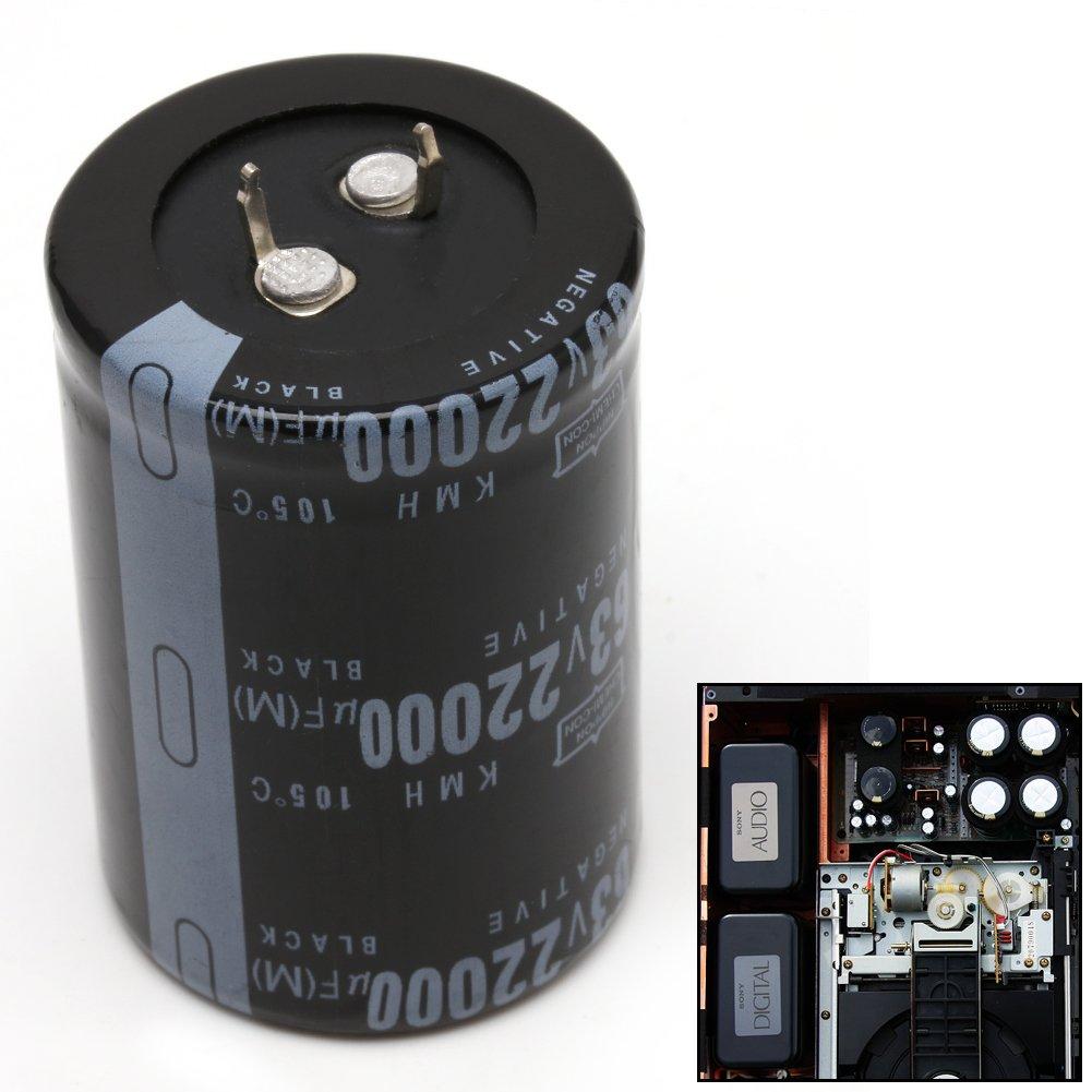 fxco 22000uf 63/V di alluminio condensatore elettrolitico 105//°c dimensioni 35/X 50/mm cilindrici
