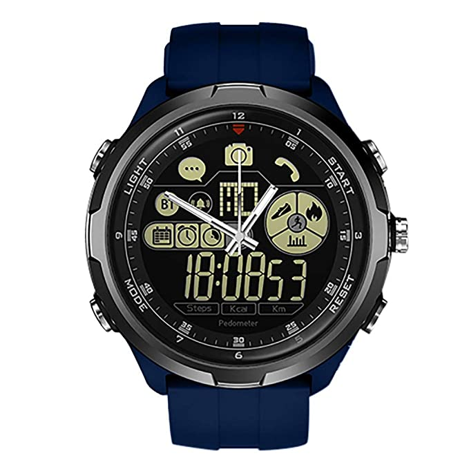 Btruely Smartwatch Deporte Hombre, Pulsera Inteligente zeblaze Vibe ...