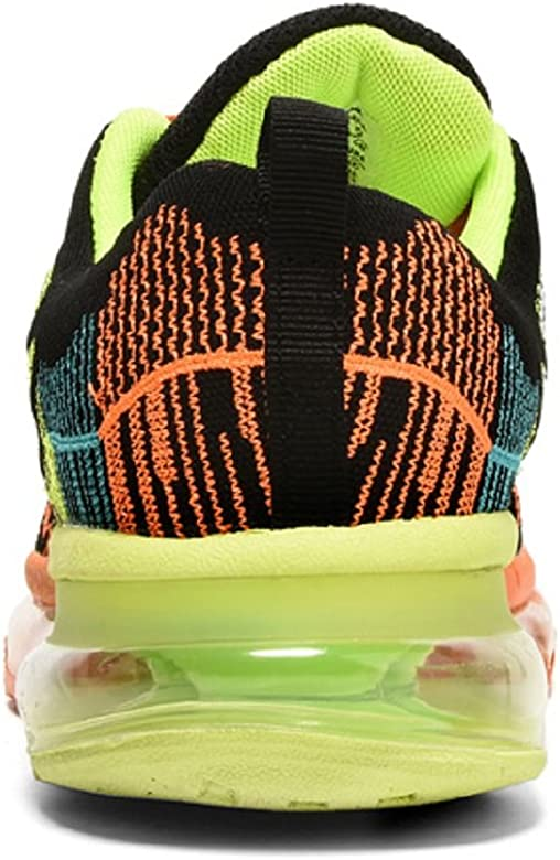 Zapatos para Correr en Montaña y Asfalto Aire Libre y Deportes Zapatillas de Running Padel para Hombre Mujer(EU 35,Naranja Negro): Amazon.es: Zapatos y complementos