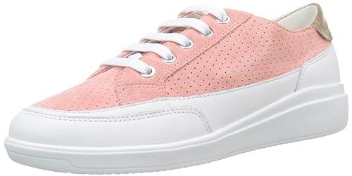 8485c49197d172 Geox Damen D Tahina C Sneaker  Geox  Amazon.de  Schuhe   Handtaschen