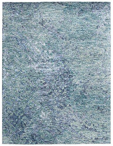 Alexandrite Gemstone Gems - Nourison Contemporary Rectangle Area Rug 5'6