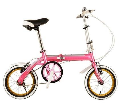 Los Niños En Bicicleta De 14 Pulgadas De Coches Plegables Con Color Claro Con Bicicleta Plegable