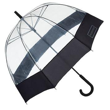 Hunter Original Bigote Burbuja Paraguas – negro