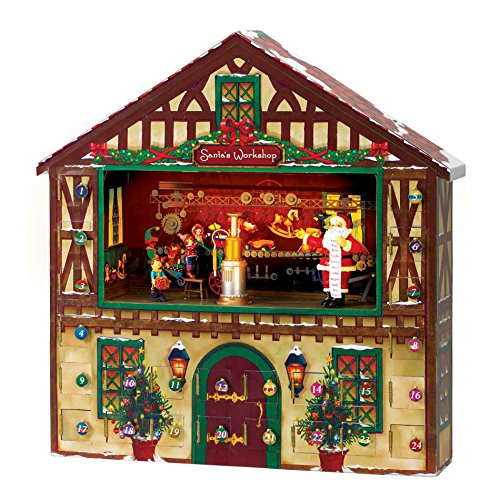 Mr. Christmas Animated Musical Advent House by Mr. Christmas (Image #3)